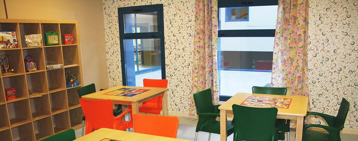 Sala de Juegos - Entretajo y Altomira - Residencia Geriátrica en Barajas de Melo, Cuenca